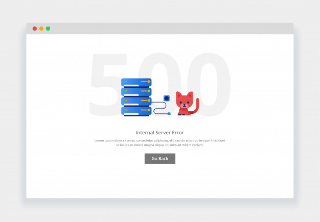 500 server internal error