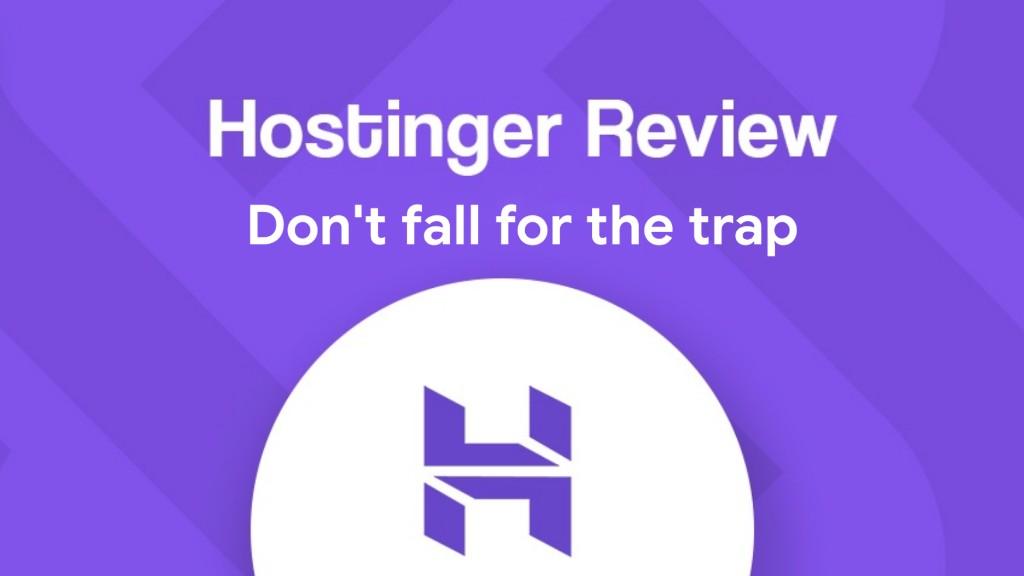 hostinger web hosting review india