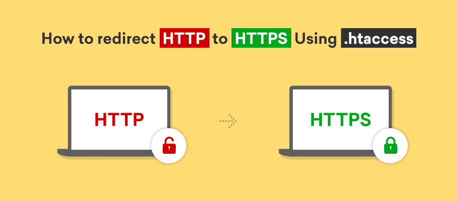 how to redirect http to https using htaccess