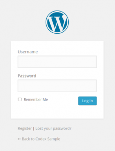 How to login WordPress Admin